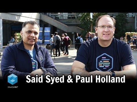 Said Syed & Paul Holland, HPE | KubeCon + CloudNativeCon EU 2018