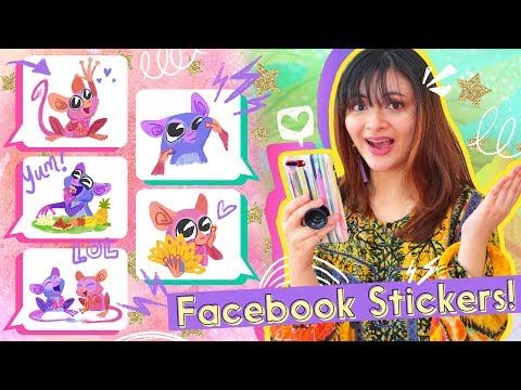 Making ANIMATED GIF STICKERS FOR FACEBOOK Inspired By The Philippines! (Behind The Scenes)