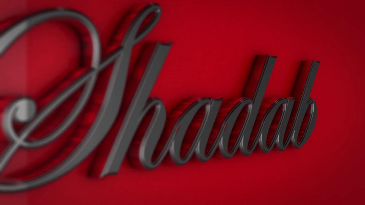 shadab 3d name