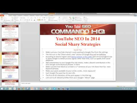 How To Rank A Video In 2014 with Social Traffic Commando