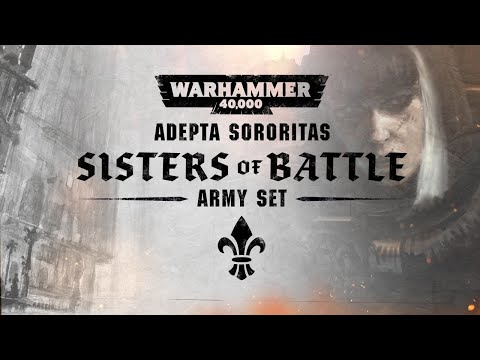New Warhammer 40,000 Sisters of Battle Army Set drops in November