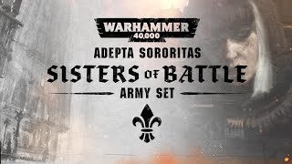 Adepta Sororitas: Sisters Of Battle Army Set Reveal