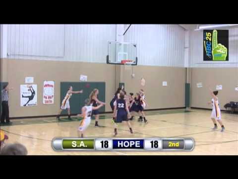 Schaeffer Academy v. Hope Lutheran girls basketball highlights (February 12, 2015)