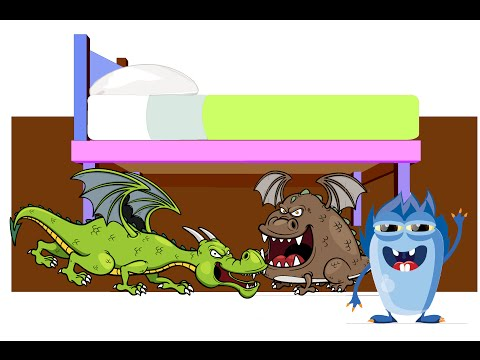 Help Kids Overcome anxiety when Monsters In the garage