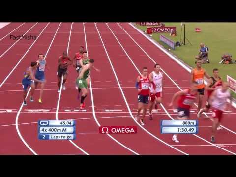 43 Men's 4x400m Relay Final   European Athletics Championships 2016
