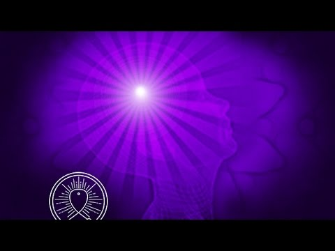 Binaural Beat Sleep Meditation Music: Third Eye Chakra Opening, Positive Energy, Healing Music