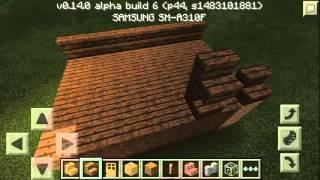 Как построить красивый дом в Minecraft 0.14.0, 0.15.0