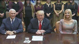 President Trump Congratulates All Woman Spacewalk Crew