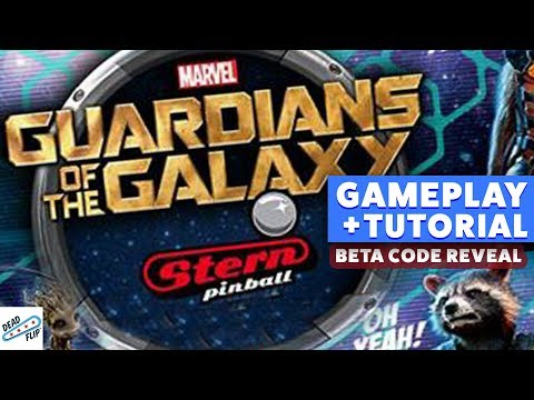 Guardians of the Galaxy Pinball Reveal | Nov. 20th, 2017