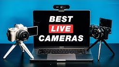 Best CAMERAS for LIVE Streaming on Facebook Live, YouTube Live and Twitch