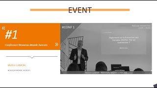 Matinale GDPR Provectio : Conférence avec Maître LAMON, partenaire NOUVEAU MONDE AVOCATS
