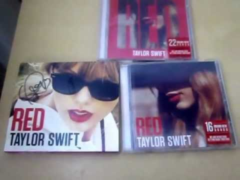 Red taylor swift deluxe edition