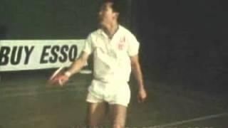 1973 China Badminton Team -Hou Jia Chang 侯加昌 And Tang Xian Hu 汤仙虎 Sparring