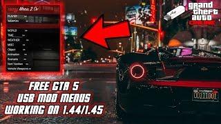 GTA 5 Online 1.44/1.45: How To Install USB Mod Menus! (XB1,PS4, PS3,XB360, & PC) | NEW 2018!