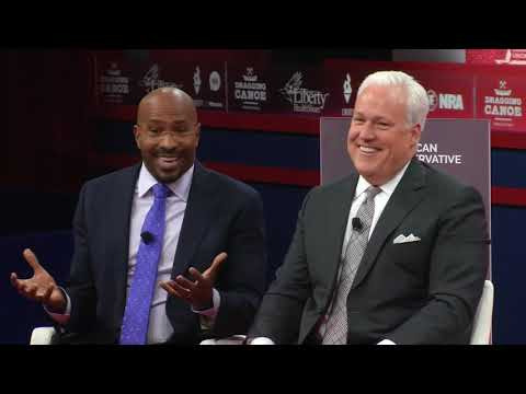 CPAC 2019 - A Conversation on Criminal Justice Reform w/ Van Jones & Matt Schlapp