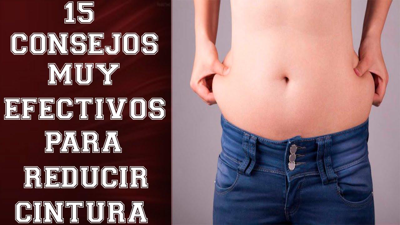 como reducir la grasa de la cintura