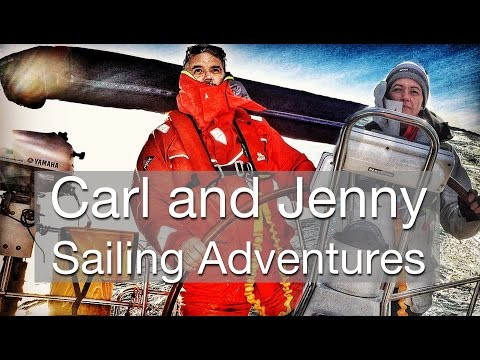 Follow our sailing adventures - Carl and Jenny