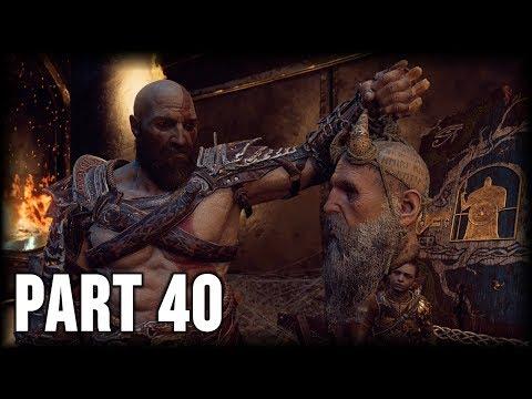 God of War - 100% Walkthrough Part 40 [PS4] – Escape from Helheim