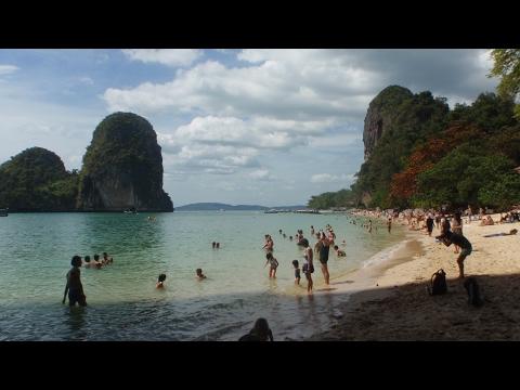 Southern Thailand 2017 - Krabi - Railay and Nang Cave beach
