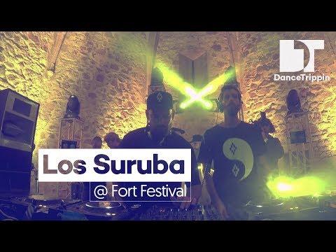 Los Suruba at Fort Festival, Castillo de Tossa De Mar (Spain)