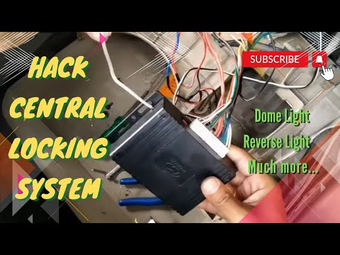 Hack Central Locking System of Car! Add Luxury Cars like features [PART-1]