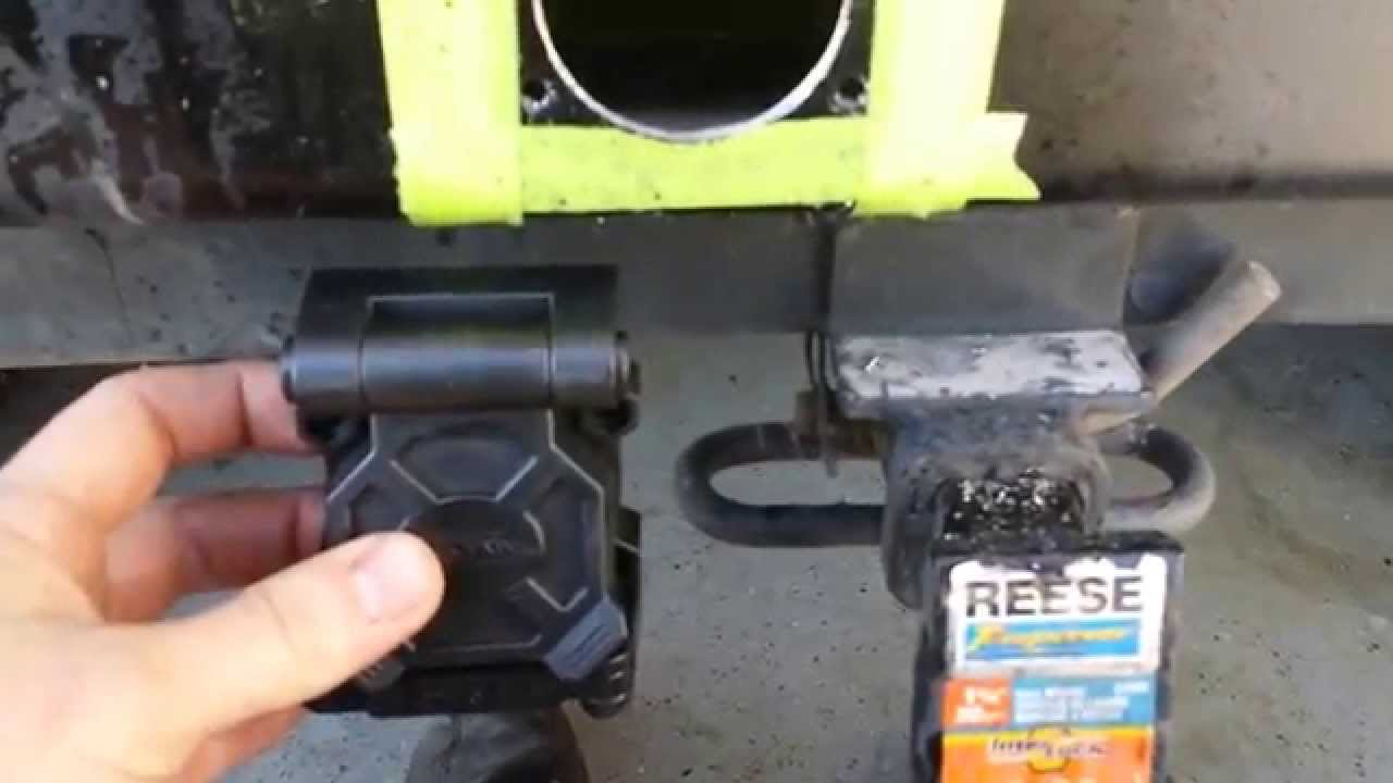 Jeep Wrangler Tj Hopkins Trailer Wireing Harness Install In Rear 2012 Wiring Pin Bumper Youtube