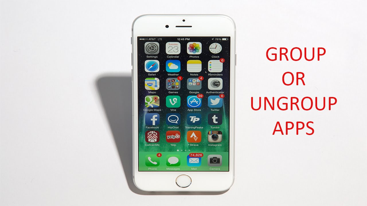 organize iphone apps how to similar apps and organize in iphone 5s 5 5s 6 3373