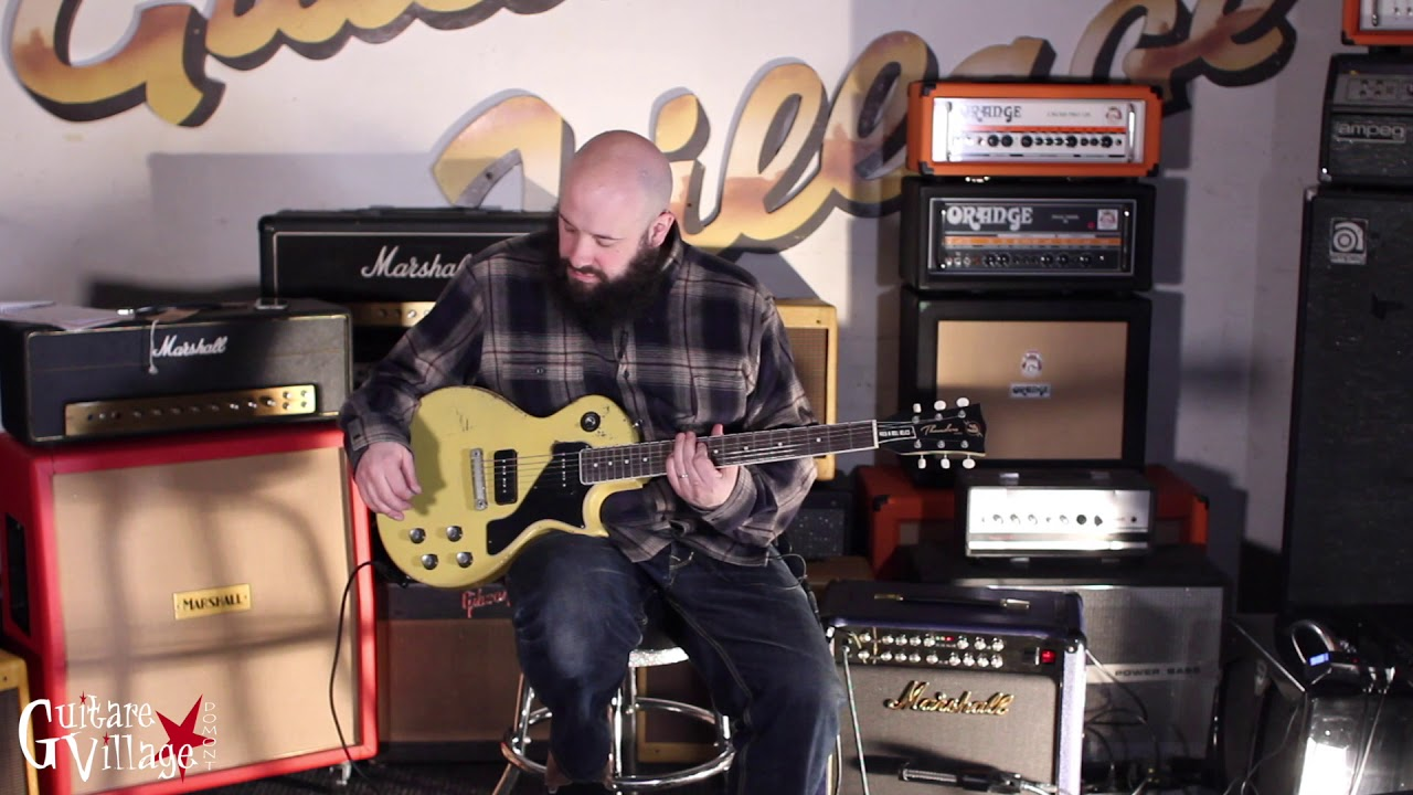 Download Rock N Roll Relics Thunders II TV Yellow - Guitare Village