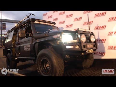 Patriot Campers - Visit SEMA 2017 Las Vegas