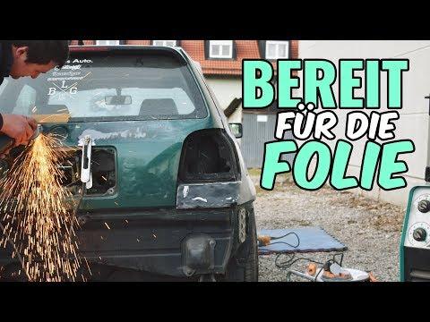 ER IST BEREIT FÜR DIE FOLIE / GOLF 3 R32 PROJEKT