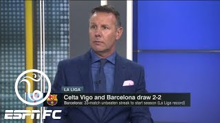 Craig Burley is not impressed with Barcelona's record-setting unbeaten streak | ESPN FC