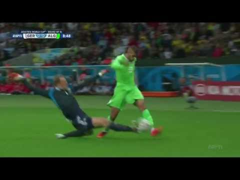 Manuel Neuer vs Algeria Highlights 30.06.2014