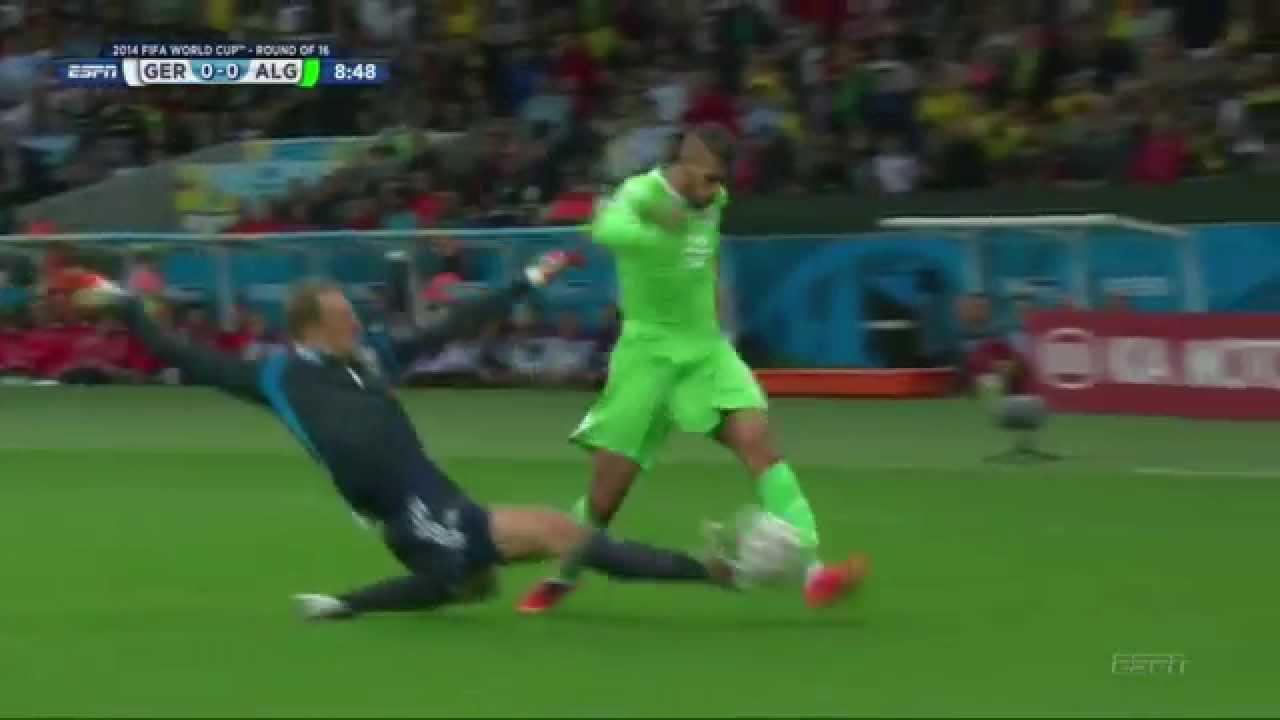 Manuel Neuer vs Algeria Highlights 30.06.2014