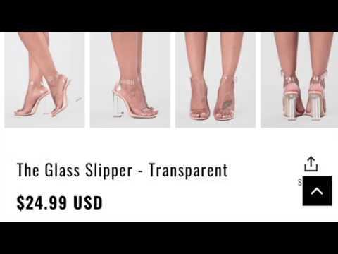 65eaa6b037c Fashion nova ShoeHaul-Clear heels! Are they worth it?