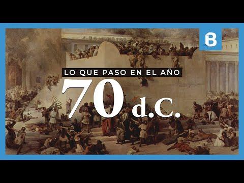 ¿Qué sucedió en el AÑO 70 d.C y por qué es tan importante para el judaísmo y el cristianismo? | BITE