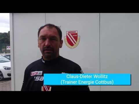 Energie-Trainer Claus-Dieter Wollitz über Ex-Schützling Nils Petersen