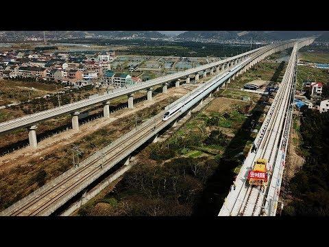 Hangzhou-Huangshan high-speed intercity railway completed