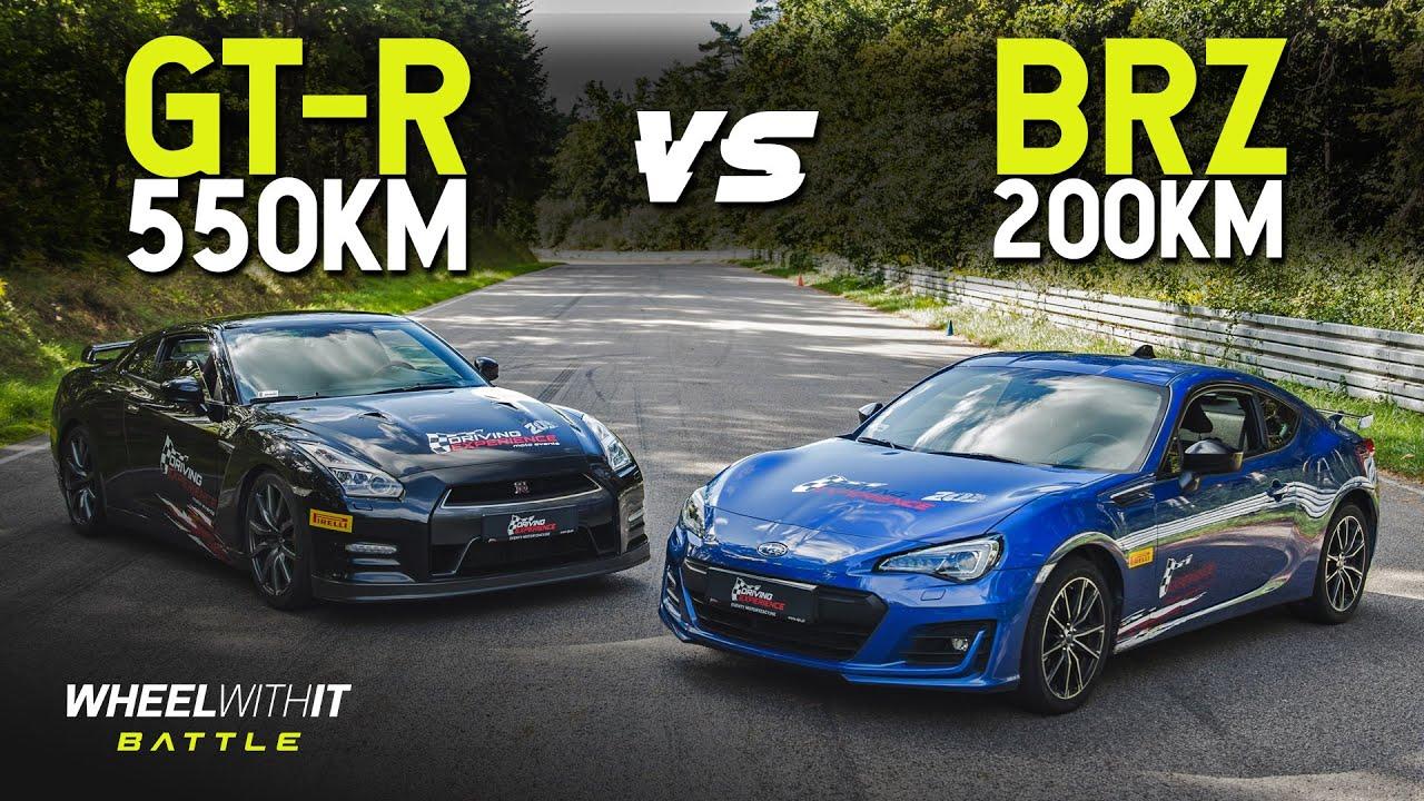 Czy moc ma znaczenie? Nissan GT-R vs Subaru BRZ - WWIT Battle #13