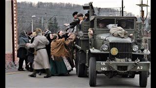 Rekonstrukcja deportacji Górnoślązaków do ZSRR - Radzionków