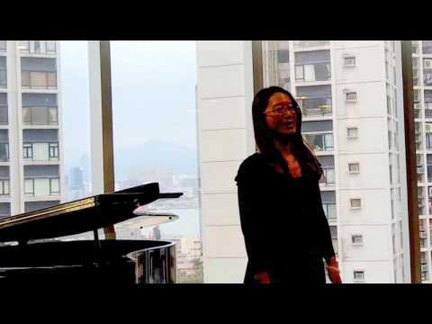 O mio babino caro-Yvonne Lau邧氏學生音樂會採排