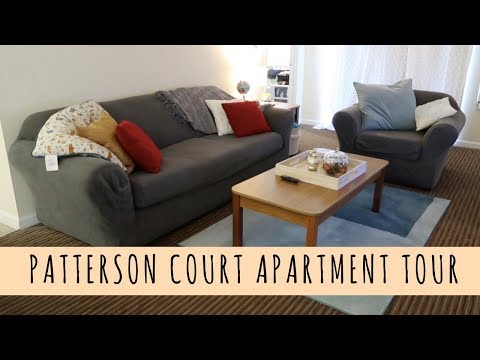 PATTERSON COURT APARTMENT TOUR || DCP Fall 2017