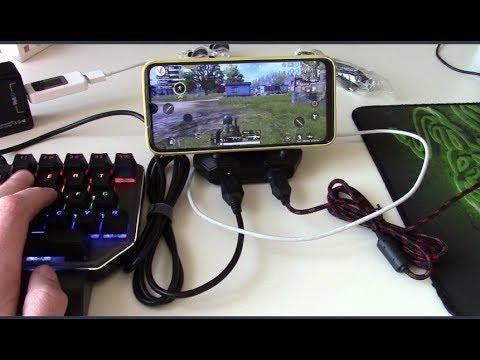 Конвертер Gamepad Mobile Bluetooth 5.0 Android PUBG Controller - вместо джойстика
