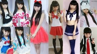 10 Halloween Costumes in 3 Minutes: Kimonos+Maid+Seifuku+Sailormoon+Evil and more