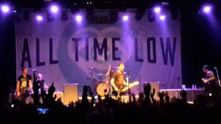 All Time Low - Damned If I Do Ya (Damned If I Don't) (Live @Trix, Antwerp, Belgium) (13-03-2015)