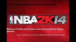 NBA - 2K14  (free download link)