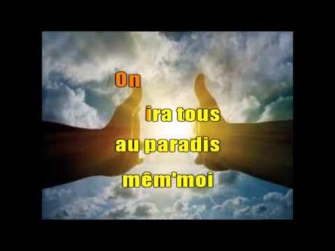 MICHEL POLNAREFF - ON IRA TOUS AU PARADIS -   KARAOKE VOIX  -  20