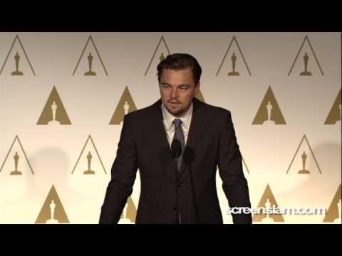 Leonardo DiCaprio: Oscar Nominee Luncheon...