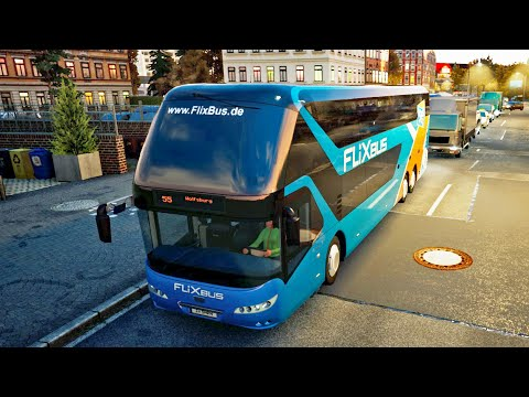 REAL LIFE Graphics ! ! ! Fernbus Simulator - Neoplan Skyliner ! ! ! GAMEPLAY !
