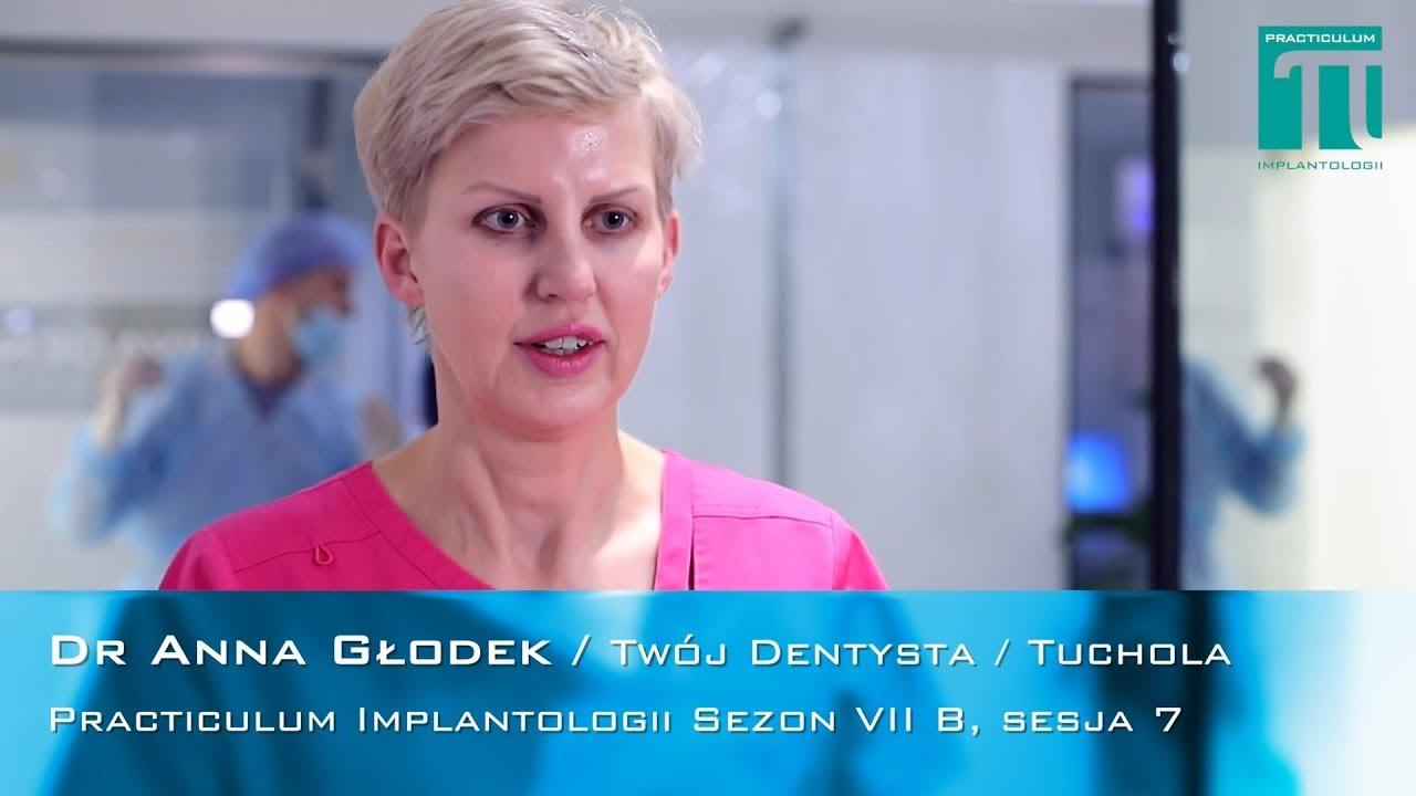 Dr Anna Głodek na Practiculum Implantologii
