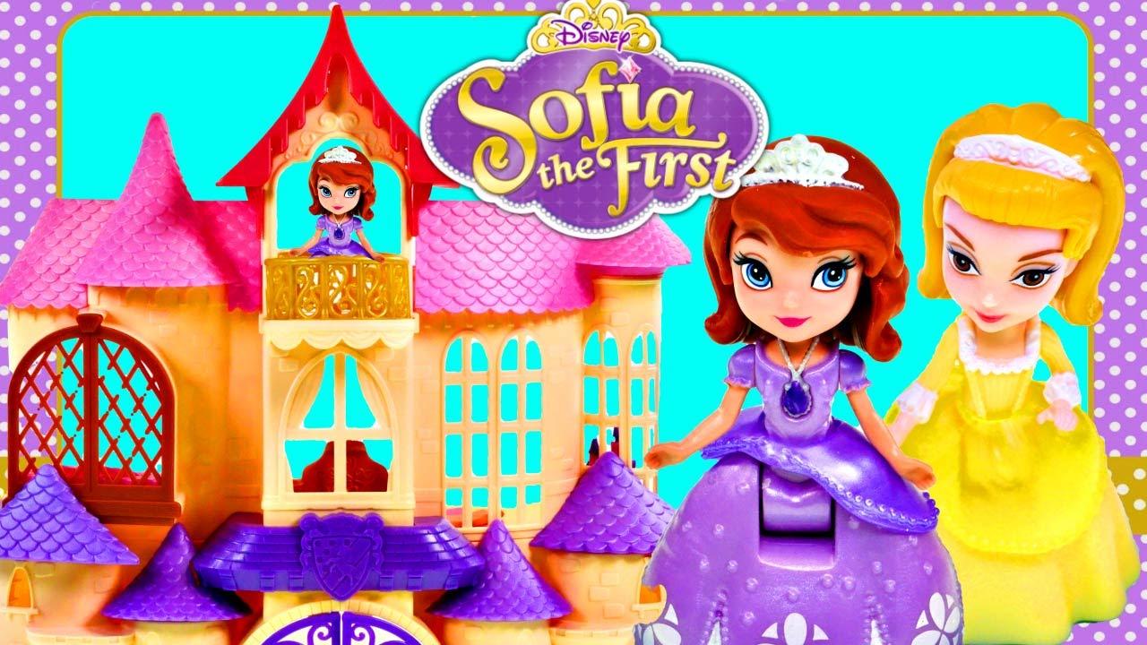 Princesa sofia y su castillo magico que habla castillo de for Espejo que habla juguete